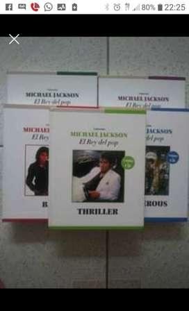 CD originales Michael Jackson