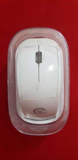 Mouse Blanco Inalámbrico Pc Usado