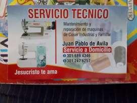 Técnico máquina de coser