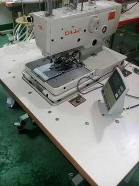 maquina ojaladora de jeans electrónica