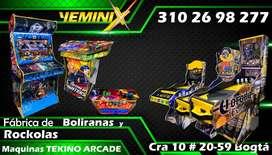 Yeminix Fabrica de BOLIRANAS,ROCKOLAS y MAQUINAS ARCADE
