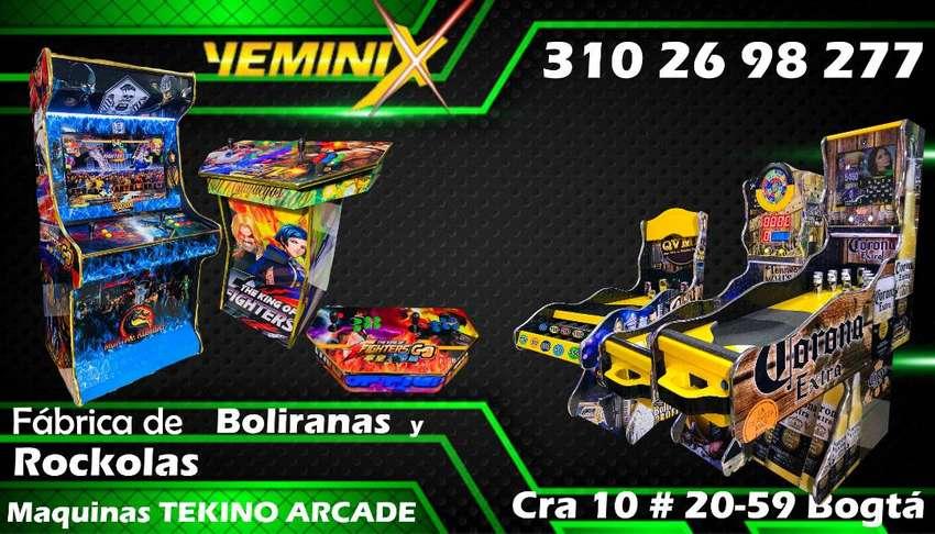 Yeminix Fabrica de BOLIRANAS,ROCKOLAS y MAQUINAS ARCADE 0