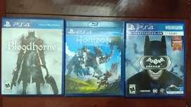 Juegos PS4 vendo