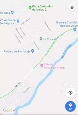 Vendo o Permuto casa lote en Andino