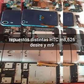 Repuestos htc m8,m9 y 626 desire