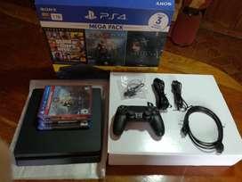 PS4 SLIM MEGA PACK