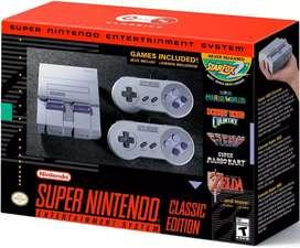 Súper Nintendo Classic Editions