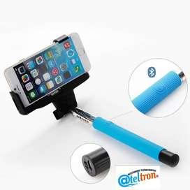 Monopod  inalámbrico Bluetooth selfies celulares