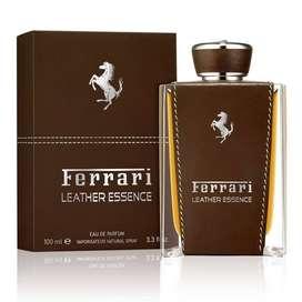 Perfume Ferrari Leather Essence 100ml Hombre Eros