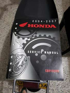 Manual Honda Cbr1000rr 2004 - 2007