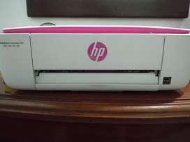 Impresora HP deskjet rosa
