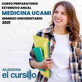 CLASES DE APOYO ONLINE INGRESO MEDICINA UCAMI