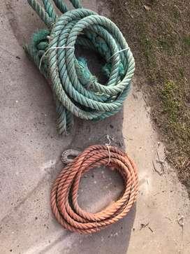 Sogas y cabos