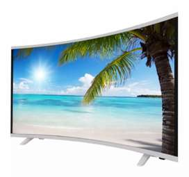 "Tv Smarth Tv 4K curvo 55"""