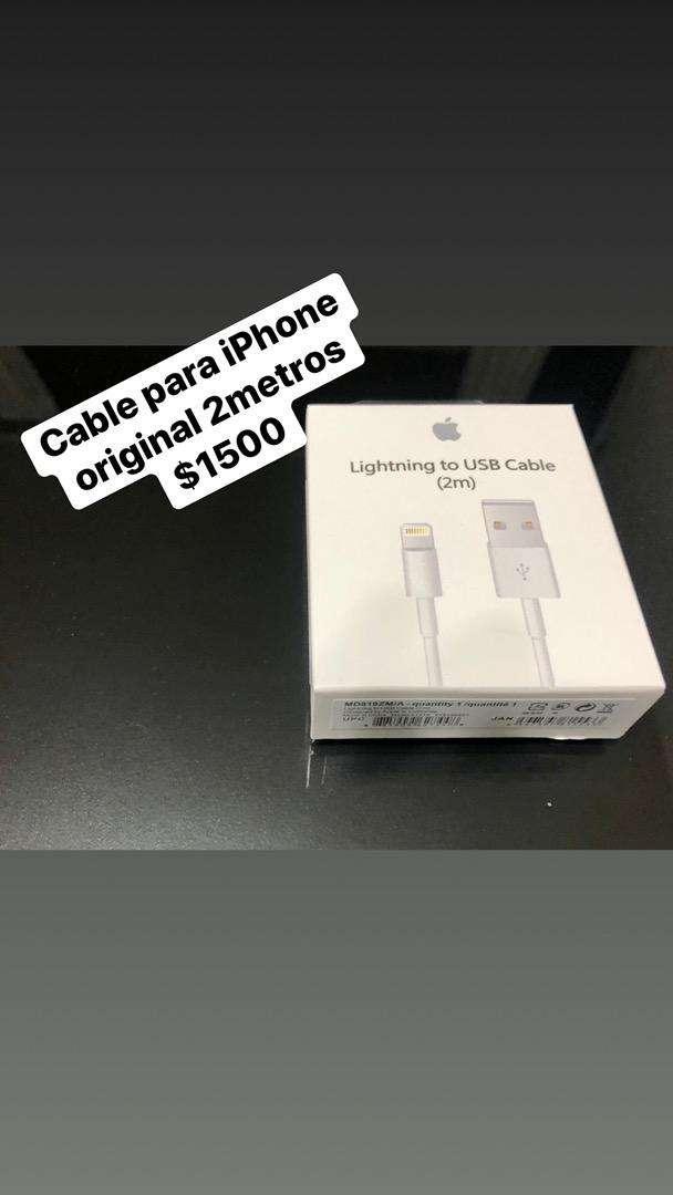 Cable para iphone original 2metros! 0