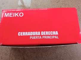 Vendo chapa Meiko  Cerradura para puerta principal