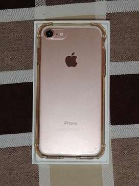 NEGOCIABLE Iphone 7 rosado 32GB