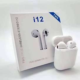 Audifonos Bluetooth I12s 5.0 Manos Libres Tactil Buen Sonido X Mayor
