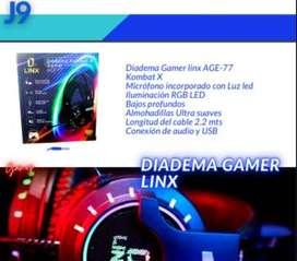Diadema Gamer linx AGE-77