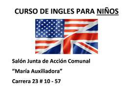 Curso de Ingles para niños
