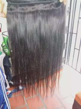 Extensiónes humanas 100% cosidas cabello virgen