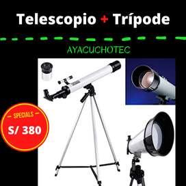 Telescopio con trípode