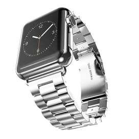 Correa De Acero Inoxidable Para Apple Watch 44 / 42 / 40 / 38 MM