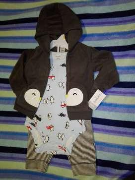 Conjuntos 3 piezas y pijamas CARTER'S nuevas