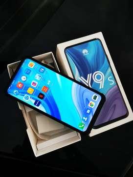 Huawei Y9s Dual sim libres y originales, caja cargador forro, vendo o cambio!