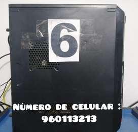 SE VENDE COMPUTADORAS DE CABINAS DE INTERNET