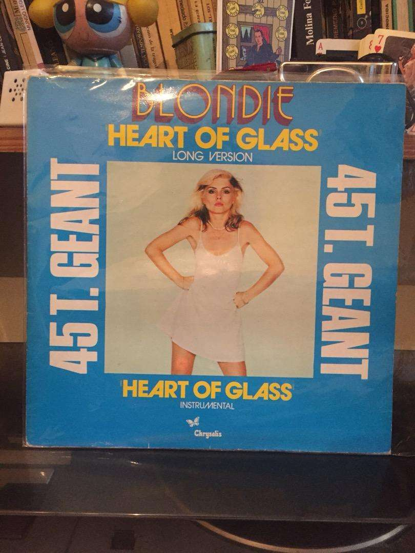 Vinilo Blondie - Heart of glass - 1979 0