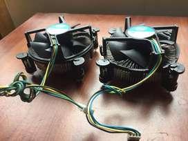 COOLERS PARA PC SOCKET 775  PARA PROCESADORES INTEL  S/. 45 Soles