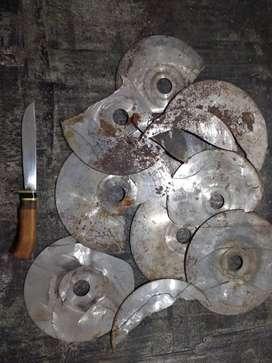 Hojas de sierra para cuchillos