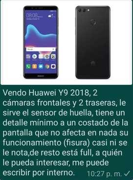 Se vende Huawei Y9 2018