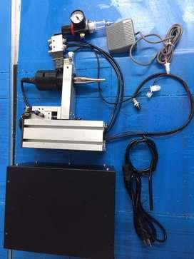 PROMOCION REMATO Maquina ultrasonido de punto para pegar caucho tapabocas 1.800W