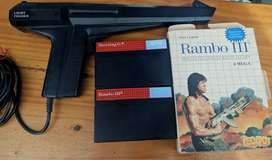 Pistola + Cartuchos Master System