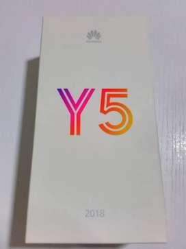 Vendo Y5-2018 nuevo
