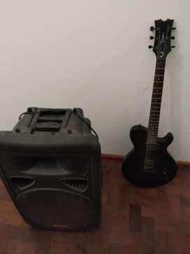 Guitarra Eléctrica Dean  Retorno Fullenergy 300w Rms  Acc