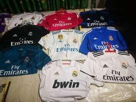 Camisetas del real Madrid colección ORIGINALES