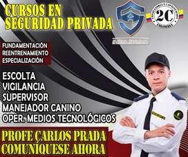 Curso de vigilancia y seguridad privada en Colombia