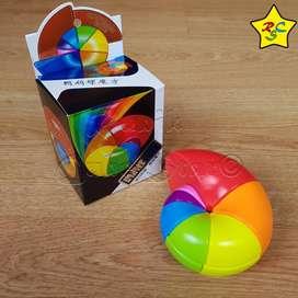 Cubo Rubik Nautilus 3x3 Caracol Multicolor Square One Raro