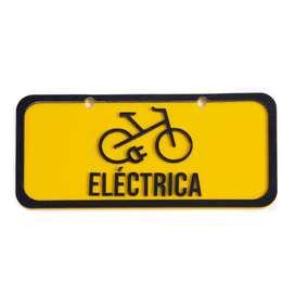 Placa Para Bicicleta Eléctrica