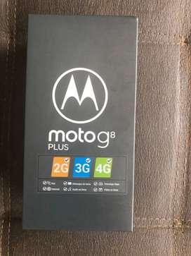 moto g8 plus como nuevo en caja