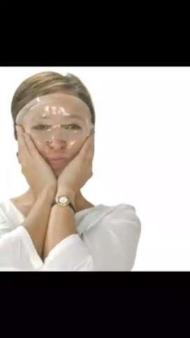Capsulasde colágeno y Ácido hialuronico DIY máscara facial