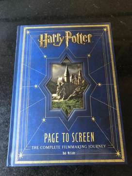 LIBRO Harry Potter Page To Screen The Complete Filmmaking Journey
