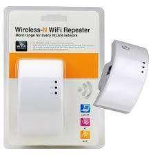 Repetidor WIFI para mejorar la señal de internet en su casa u oficina