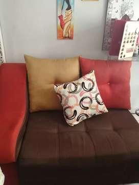 Muebles en L excelente estado sin la mesa poco uso
