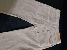 Pantalón marca cardon de corderoy