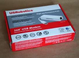 U.S. Robotics USR 5637 56K USB Hardware Fax Modem Nuevo