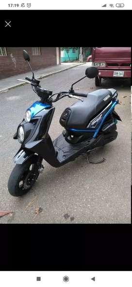 Vendo moto bws at 125 color azul